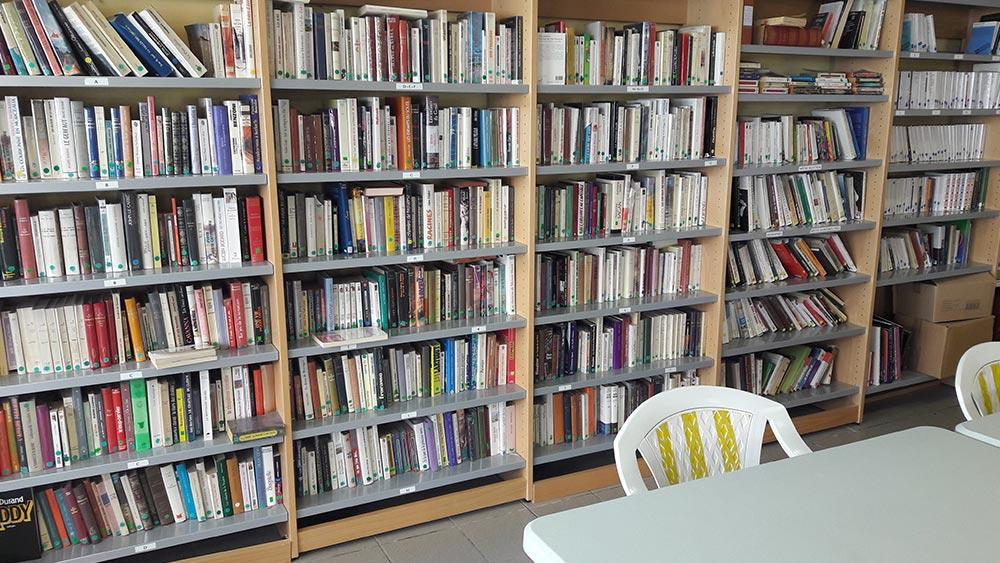 Bibliothèque - EHPAD Les Galets d'Olt à Saint-Côme d'Olt