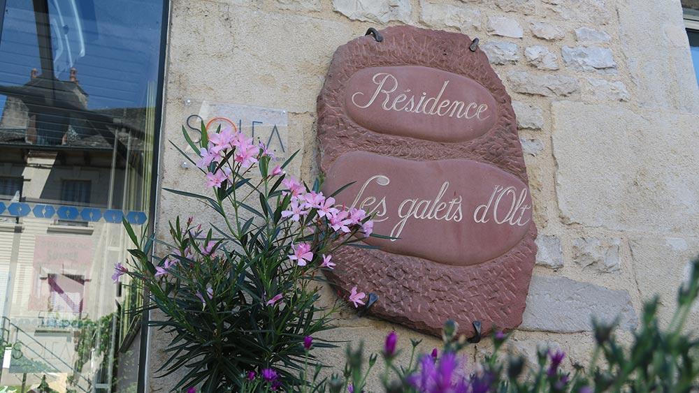 Enseigne - EHPAD Les Galets d'Olt à Saint-Côme d'Olt